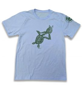 Light Blue Sea Turtle Shirt