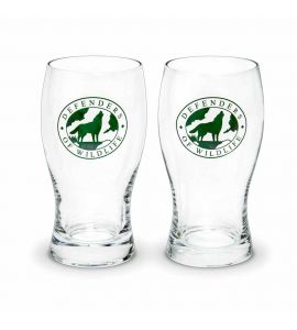 Wildlife pub glasses