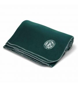 Green wildlife blanket