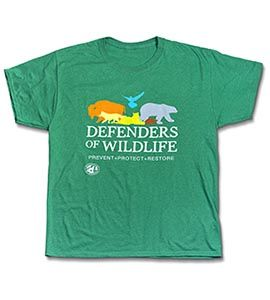 Green Multi-Species T-shirt