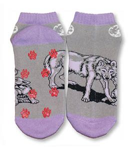 Wolf slipper socks